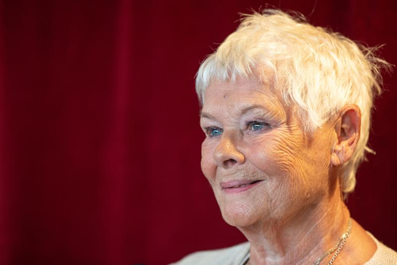 Dame Judi Dench attends the reopening of the Ashcroft Playhouse at the Fairfield Halls, Croydon. PA Photo. Picture date: Monday September 16, 2019. (Photo by Dominic Lipinski/PA Images via Getty Images)