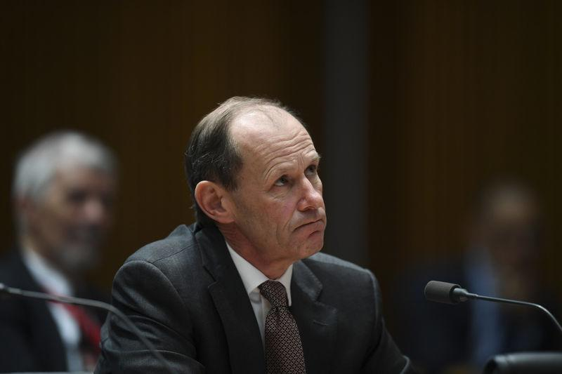CEO of ANZ Shayne Elliott speaks during a hearing of the House Economics Committee at Parliament House in Canberra