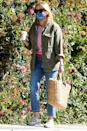 <p>Reese Witherspoon was spotted out and about in Los Angeles with a cup of coffee in hand.</p>