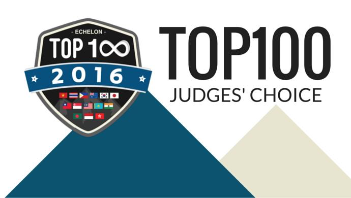 16 TOP100 Judges' Choice winners are ready for Echelon Asia Summit 2016. Are you?