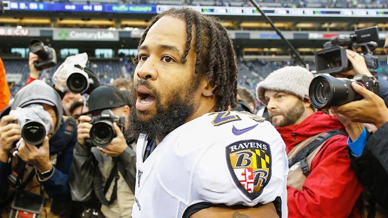Pictured here, Baltimore Ravens NFL star Earl Thomas.