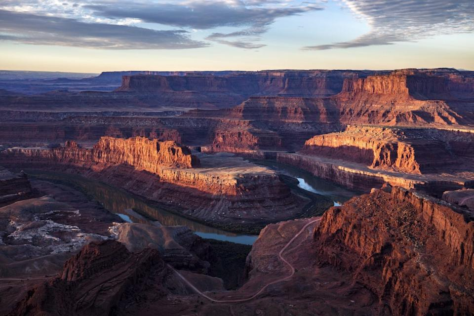 The Colorado River winds around the northern reaches of the Bear Ears National Monument.