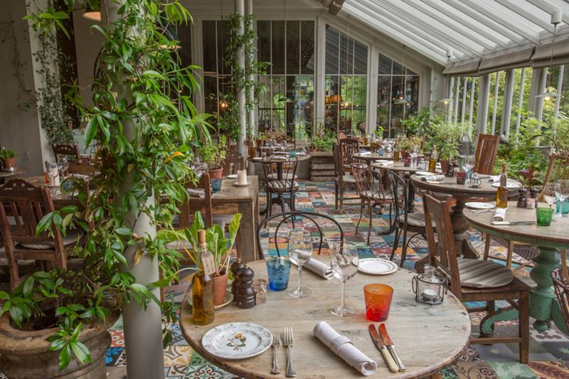 The Pig Hotel Restaurant in Brockenhurst, New Forest Hampshire. [Photo: The Pig Hotel]