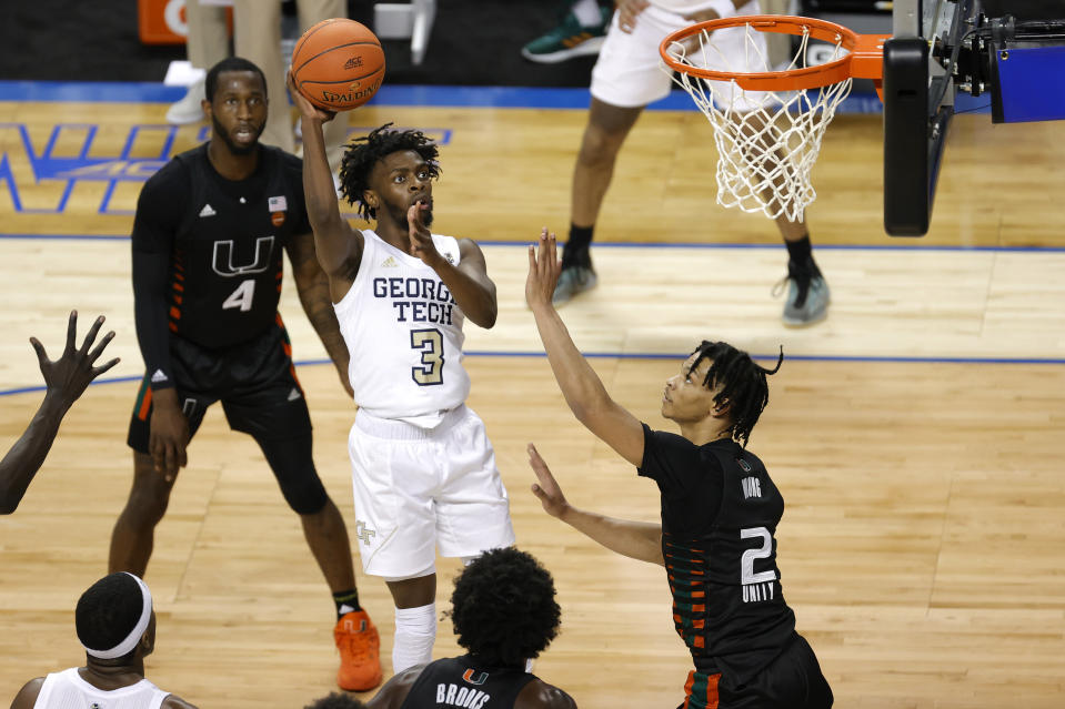 Bubba Parham and the Georgia Tech Yellow Jackets moved on to the ACC championship game. (Photo by Jared C. Tilton/Getty Images)