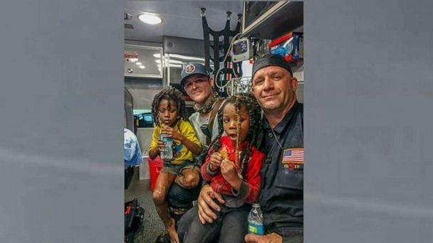 PHOTO: Braxton Williams, 6, and his sister Bri'ya Williams, 5, were found Tuesday afternoon after they went missing Sunday, authorities said. (Jacksonville Fire And Rescue Department/Twitter)