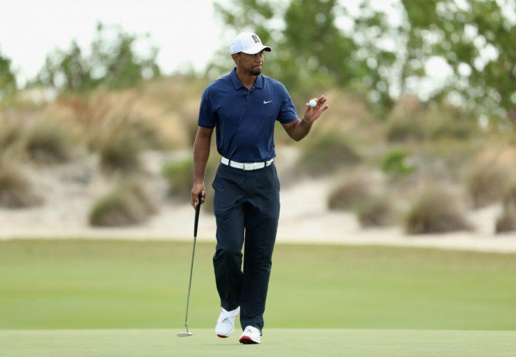 Tiger Woods is putting well in his comeback. (Getty Images)
