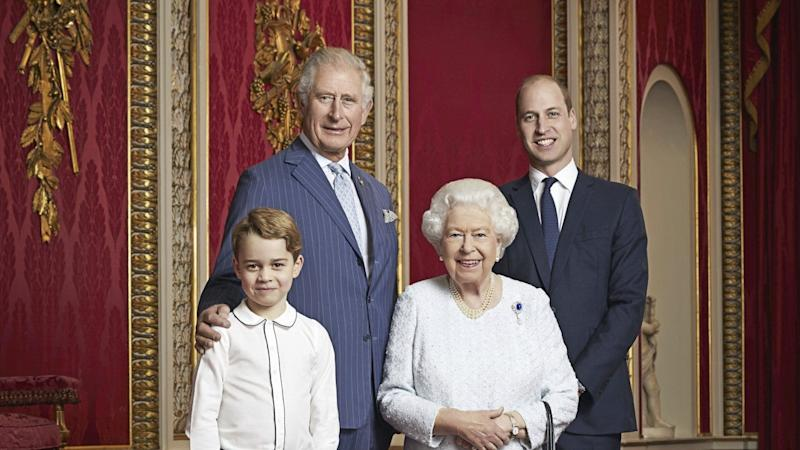The portrait was released to mark the start of a new decade for the royals.