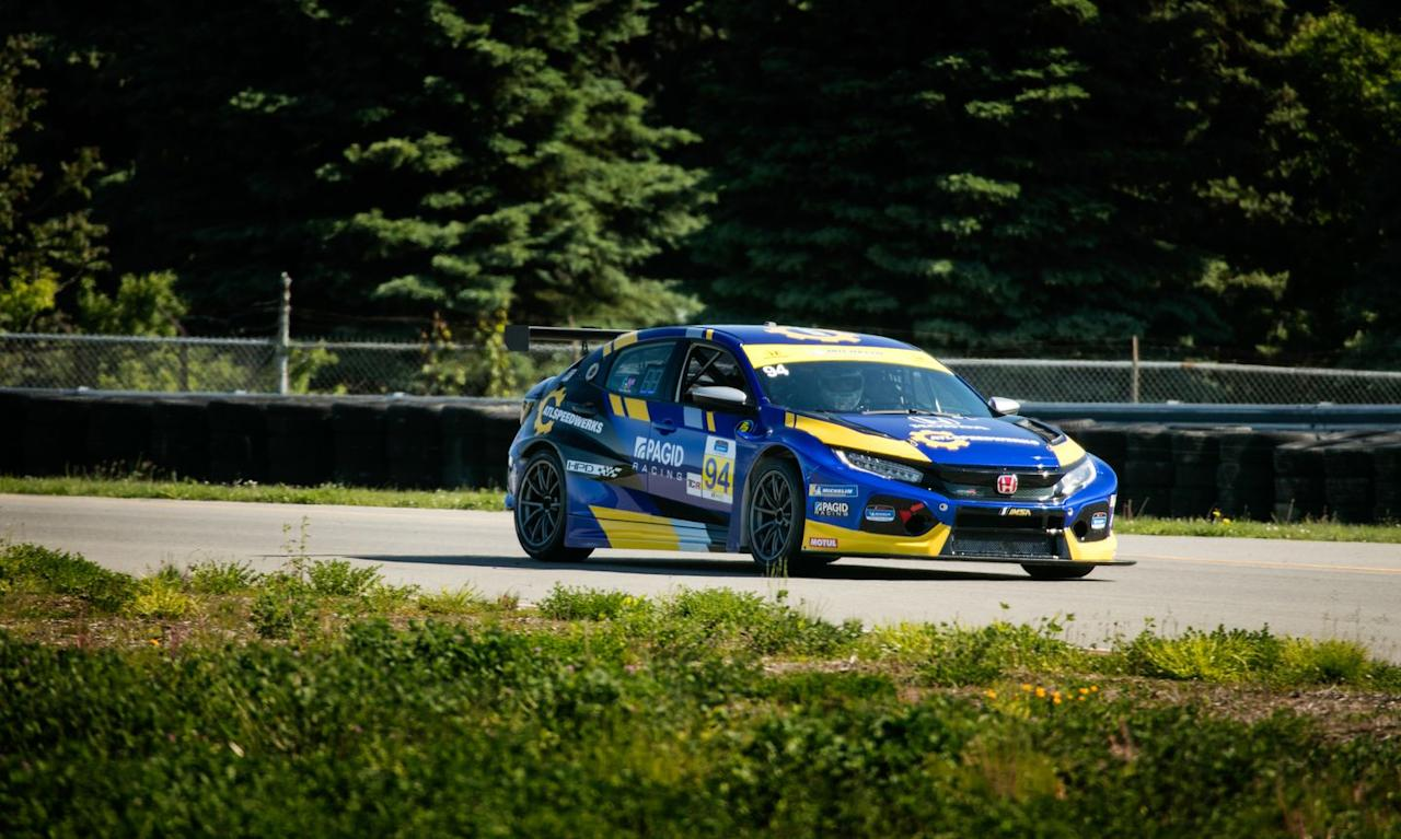 <p>TCR is a race class made entirely of front-wheel-drive cars powered by turbocharged four-bangers. </p>