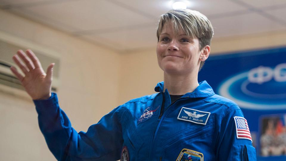 Anne McClain is shortlisted to become the first woman to walk on the moon