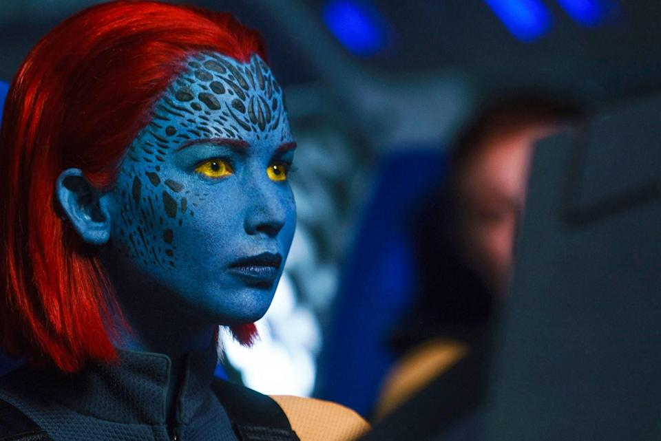Mystique was a villain on the page but is a hero on screen