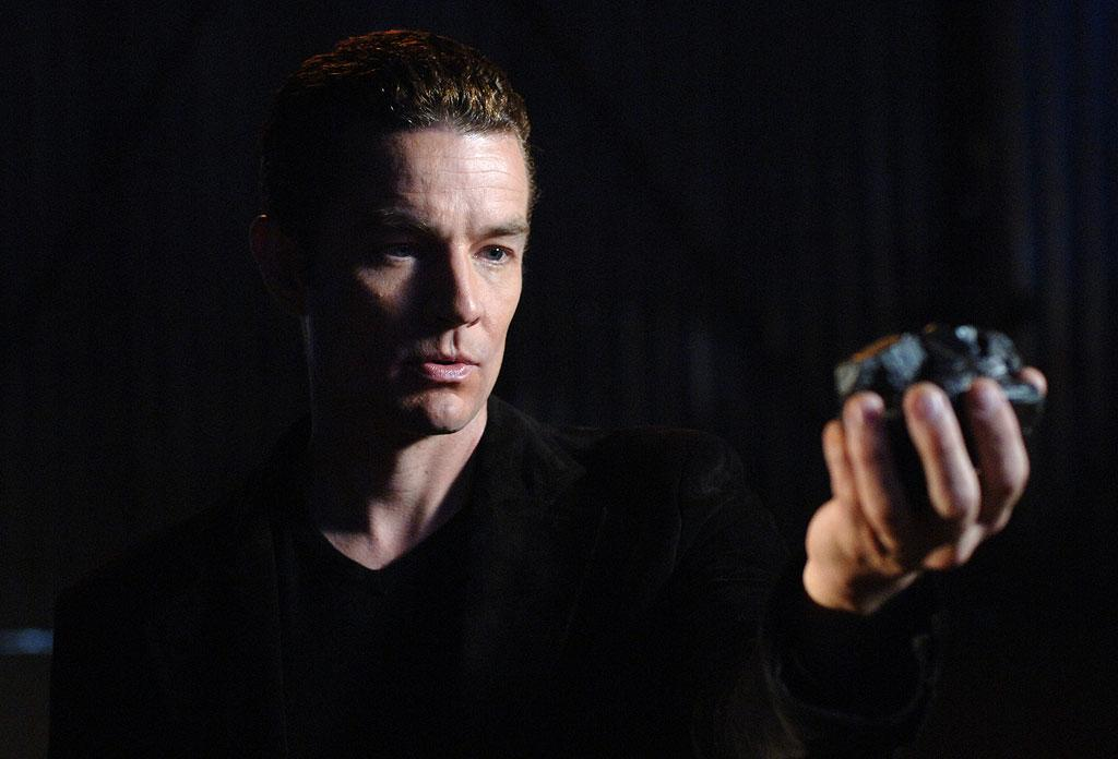 """<a href=""""/james-marsters/contributor/684177"""">James Marsters</a> as Dr. Fine/Brainiac in <a href=""""/smallville/show/33659"""">Smallville</a>, on The CW."""