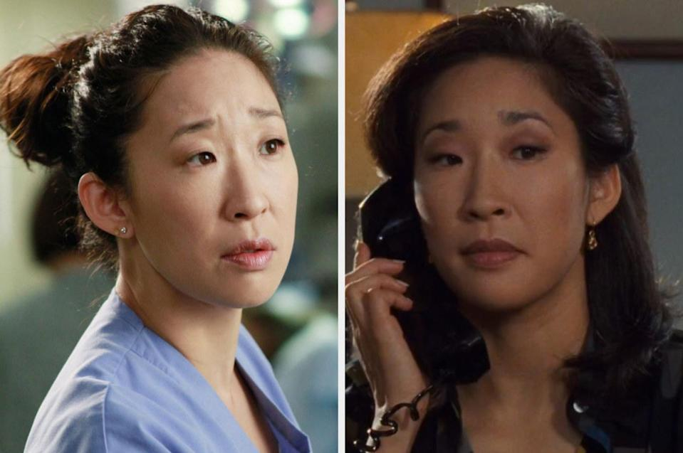 Both played by: Sandra Oh