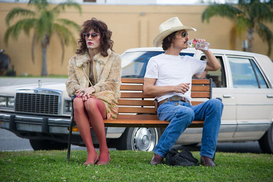 "Jared Leto and Matthew McConaughey in ""Dallas Buyers Club"""