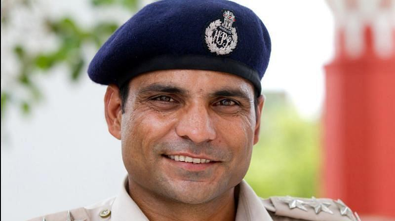 Joginder Sharma is serving the country in other ways at the moment