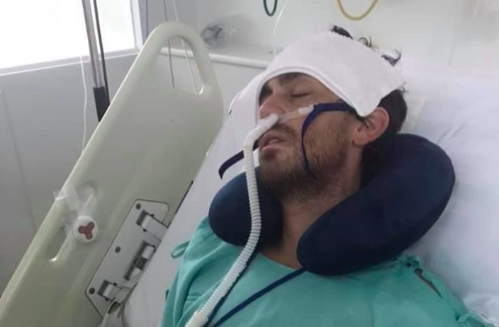 Ash Shorely is thought to have contracted the disease while on holiday in Thailand. (GoFundMe)