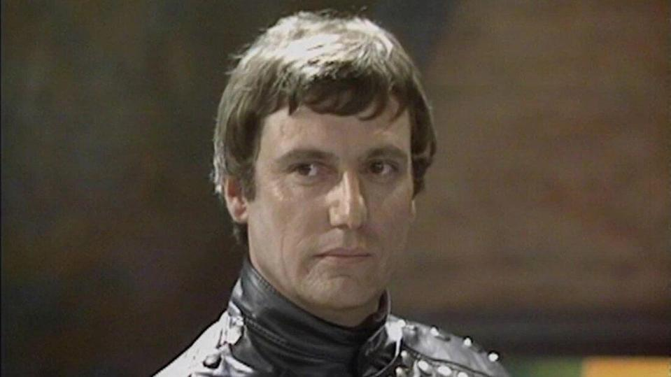 Paul Darrow as Kerr Avon in the sci-fi television series 'Blake's 7', which aired from 1978 and 1981. (Credit: BBC)