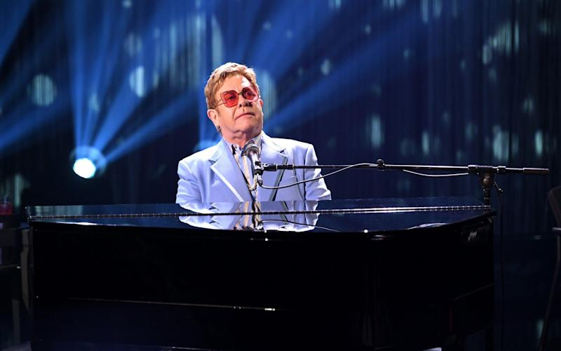 Hard of hearing Elton John fans attending his farewell tour can use an app to help them better hear his music - Getty Images North America