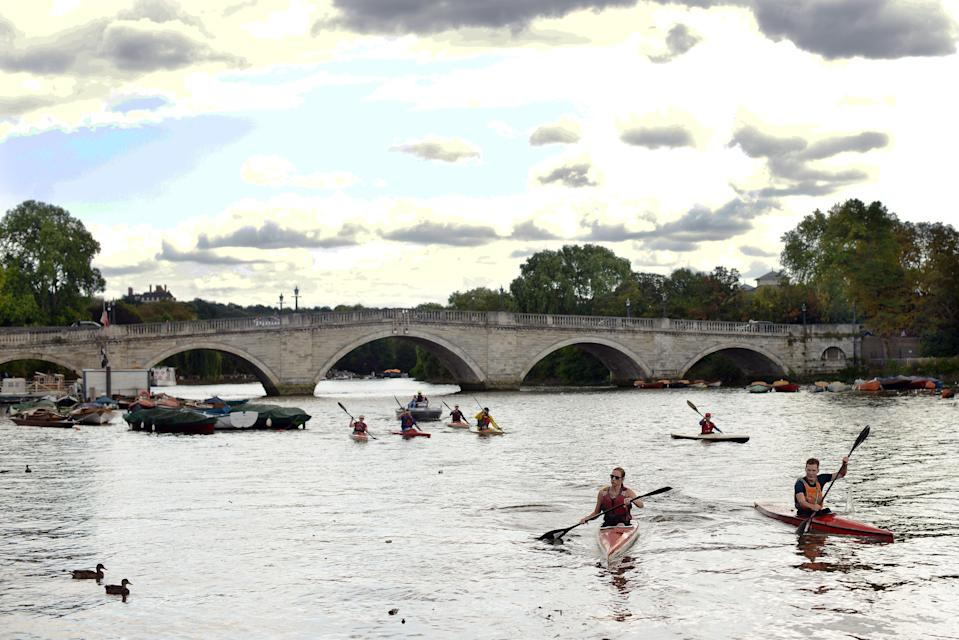 Great outdoors: London's leafier boroughs like Richmond, pictured, have performed better than more central optionsDaniel Lynch