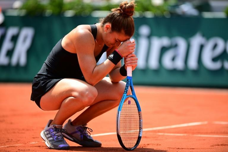 """Maria Sakkari was left """"speechless"""" by her quarter-final win over reigning French Open champion Iga Swiatek"""