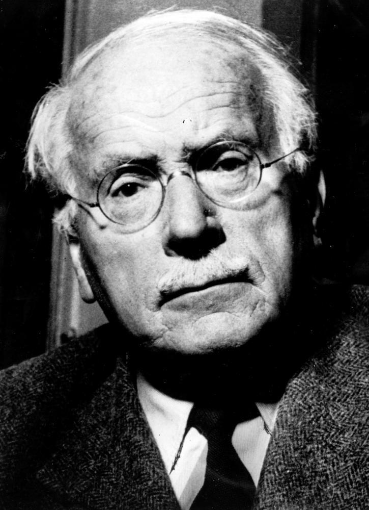 Carl Jung, whose work inspired the Myers-Briggs test.