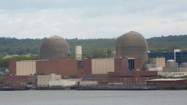 The last remaining reactor at the Indian Point nuclear power plant, north of the city, shut down in April. (Photo: Kena Betancur via Getty Images)