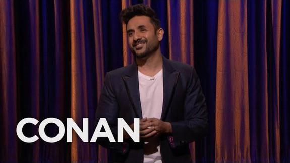 Vir Das debuts on Late Night with Conan O'Brien