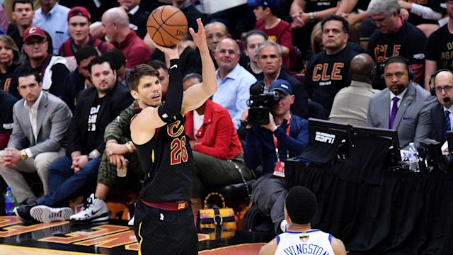Kyle Korver would give the Sixers one of the most consistent 3-point threats in the league and space the floor for rising stars Ben Simmons and Joel Embiid.