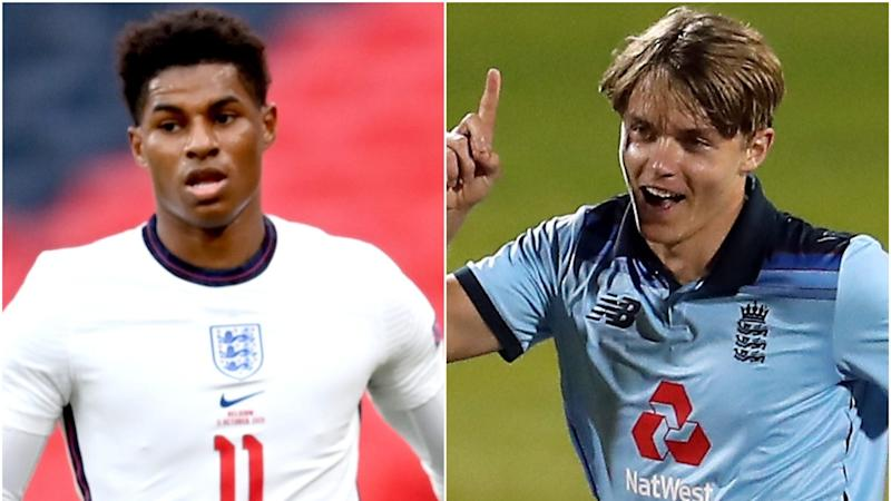 Rashford's new bio and Curran looks for Xbox deal – Wednesday's sporting social