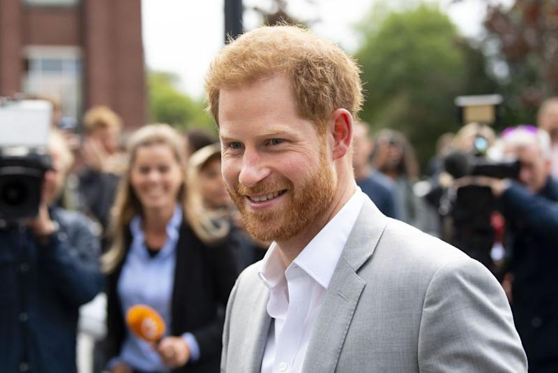 The BBC has apologised to Prince Harry after sharing the racist material [Photo: Getty]