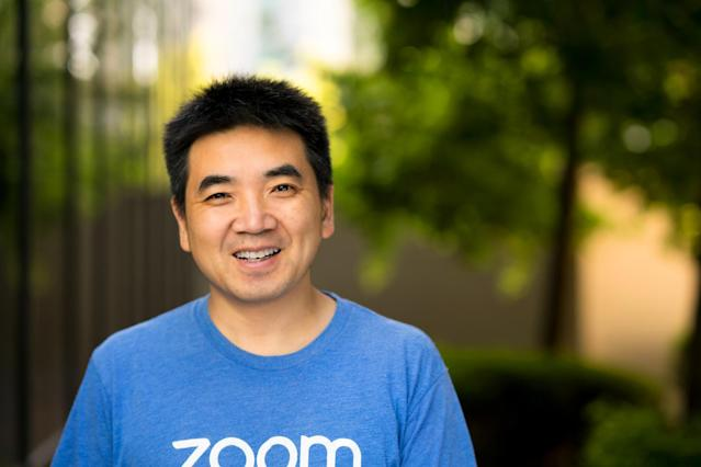 Zoom Video Communications' CEO Eric Yuan. (Courtesy of Zoom Video Communications)