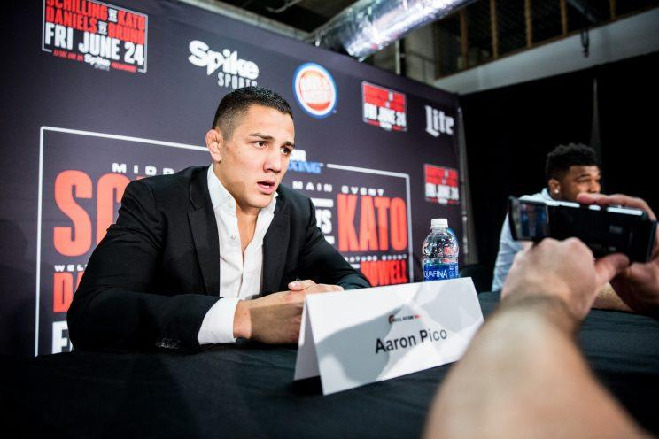 is bellator prodigy aaron pico the next big thing in mma. Black Bedroom Furniture Sets. Home Design Ideas