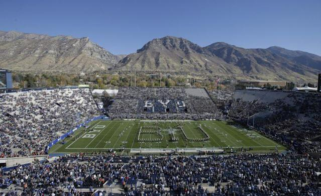 BYU's athletic teams do not compete on Sundays. (AP Photo/Rick Bowmer)