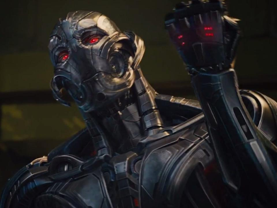 """James Spader voiced the AI, Ultron, in the """"Avengers"""" sequel."""
