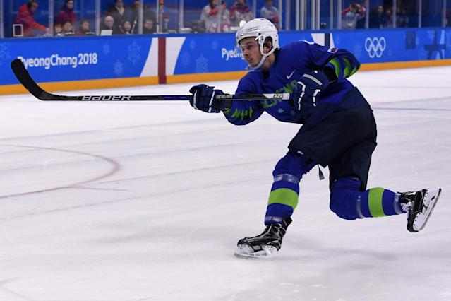 <p>Jeglic tested positive for a banned substance. The Court of Arbitration for Sport has suspended the hockey player for the remainder of the Olympics. </p>