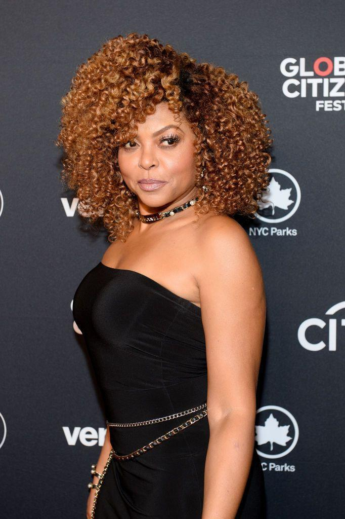 <p><strong>Taraji P. Henson</strong> is the queen of switching up her hair color. We love her take on chestnut, with deep, rust-colored roots that transform into a caramely ombré.</p>
