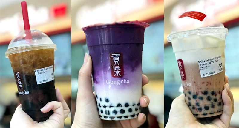Image result for gong cha milk tea