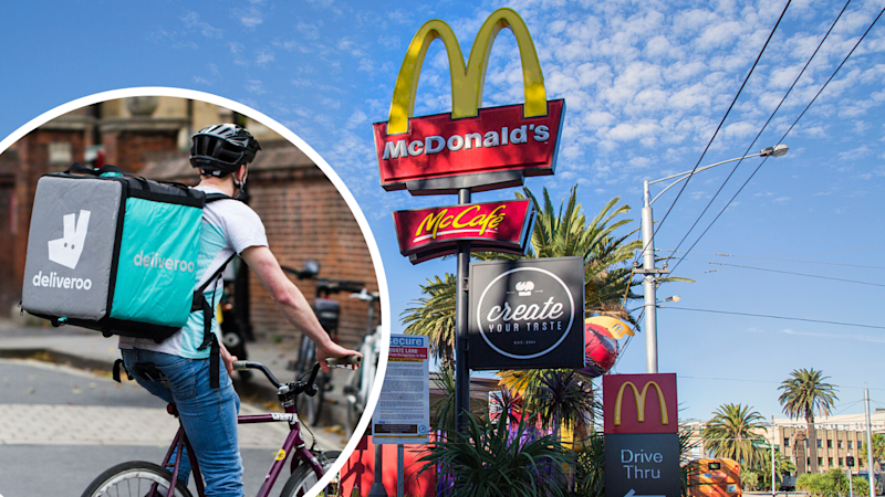 McDonald's has landed at Deliveroo. (Source: Getty)