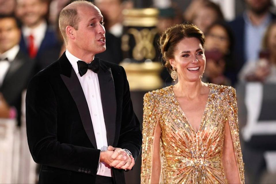 William and Kate (REUTERS)