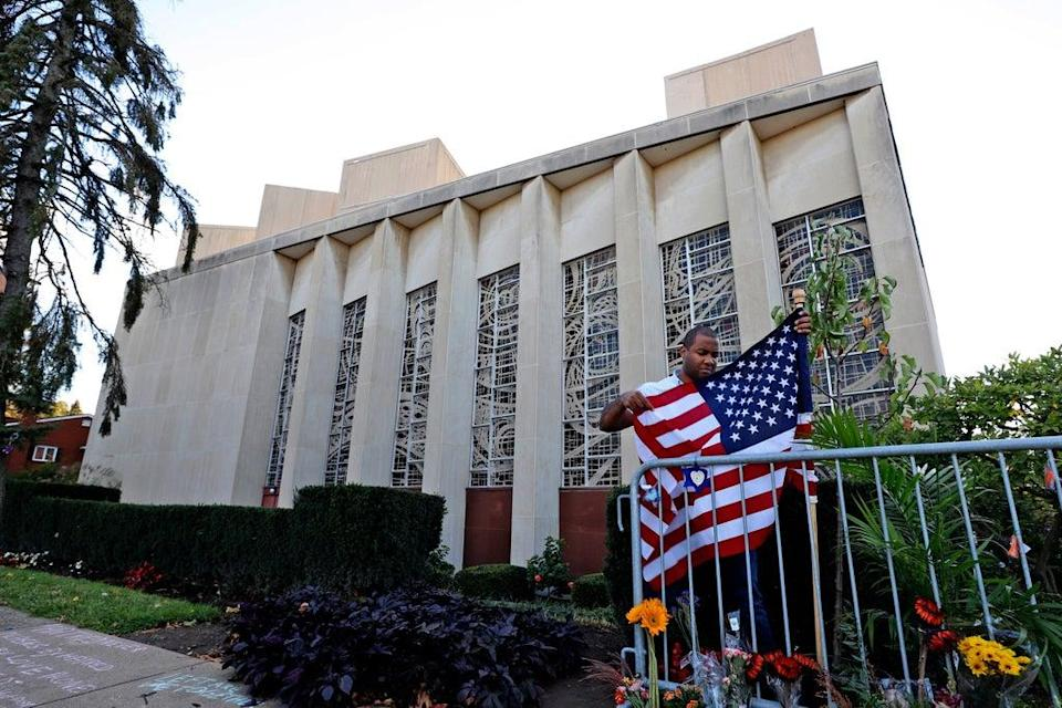 US Pittsburgh Synagogue Shooting (Copyright 2019 The Associated Press. All rights reserved.)