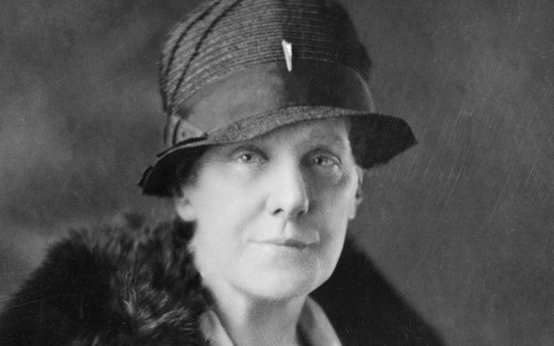 Founder of US Mother's Day Anna Jarvis - Bettmann