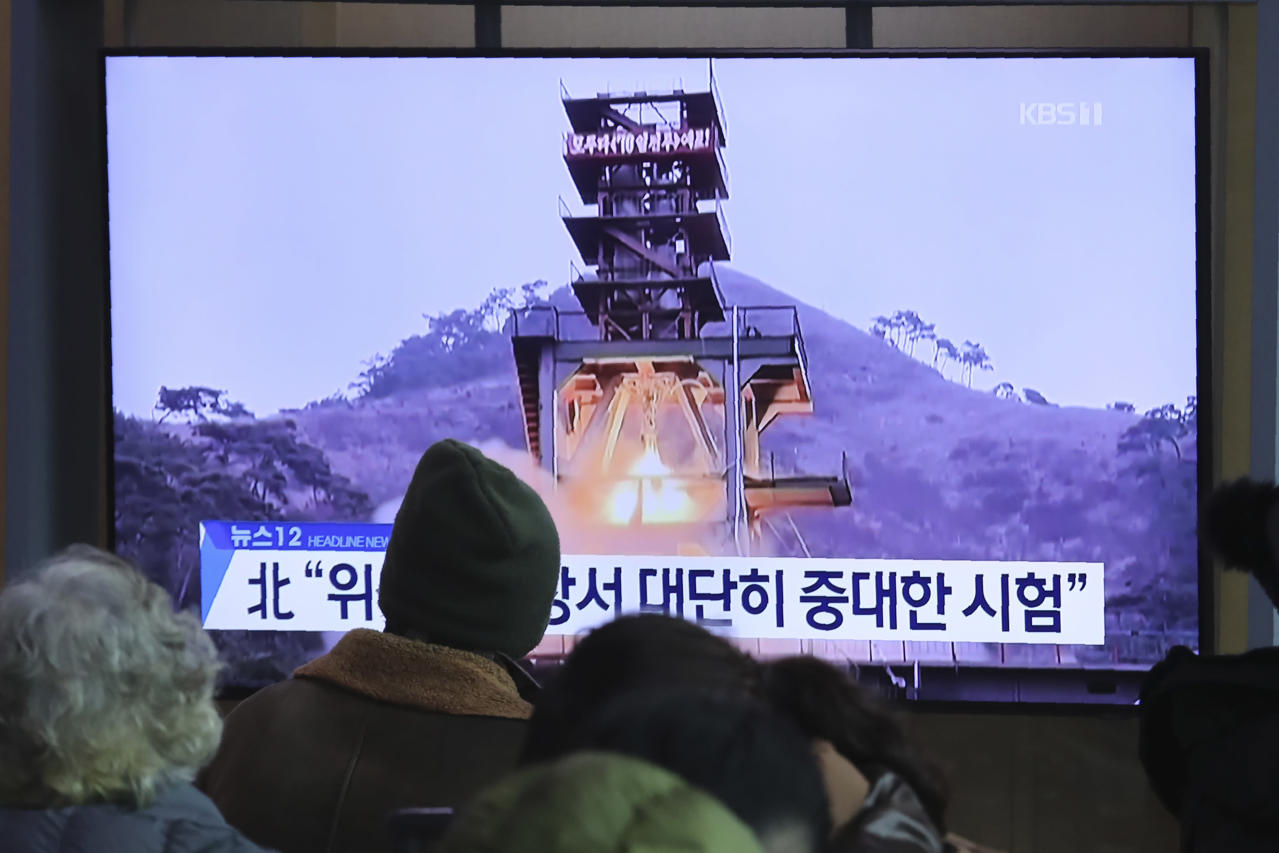 Photo of South Korea says North's current check was of rocket engine