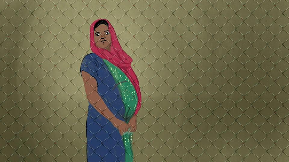 Noor Sehra is among the many pregnant Rohingya women kept in detention centres despite having a valid UNHCR refugee card.