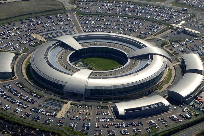 British Government's Communications Headquarters (GCHQ) in Cheltenham, Gloucestershire. (EPA)