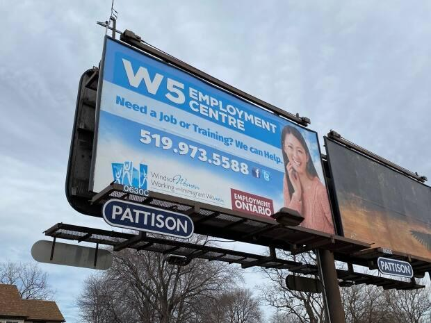 Another billboard from W5 in Windsor.