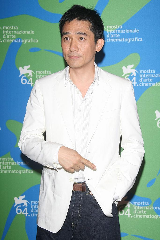 VENICE - AUGUST 30: Actor Tony Leung attends the Se, Jei (Lust, Caution) photocall during Day 2 of the 64th Annual Venice Film Festival on August 30, 2007 in Venice, Italy. (Photo by Daniele Venturelli/WireImage)