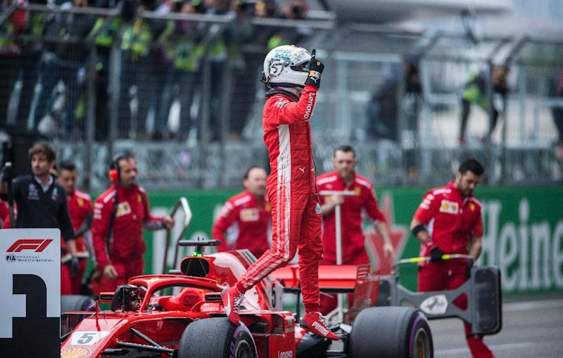 Vettel denies Raikkonen pole for Chinese Grand Prix