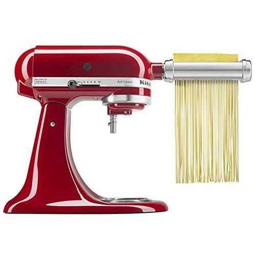 """<p><strong>KitchenAid</strong></p><p>amazon.com</p><p><strong>$199.00</strong></p><p><a href=""""https://www.amazon.com/dp/B01DBGQR1K?tag=syn-yahoo-20&ascsubtag=%5Bartid%7C10055.g.29535920%5Bsrc%7Cyahoo-us"""" rel=""""nofollow noopener"""" target=""""_blank"""" data-ylk=""""slk:Shop Now"""" class=""""link rapid-noclick-resp"""">Shop Now</a></p><p>Upgrade their kitchen tools and check out these <a href=""""https://www.goodhousekeeping.com/appliances/mixer-reviews/g2224/stand-mixer-reviews/"""" rel=""""nofollow noopener"""" target=""""_blank"""" data-ylk=""""slk:stand mixer reviews"""" class=""""link rapid-noclick-resp"""">stand mixer reviews</a> — this three-piece set includes a pasta roller, fettuccine cutter and spaghetti cutter.</p>"""