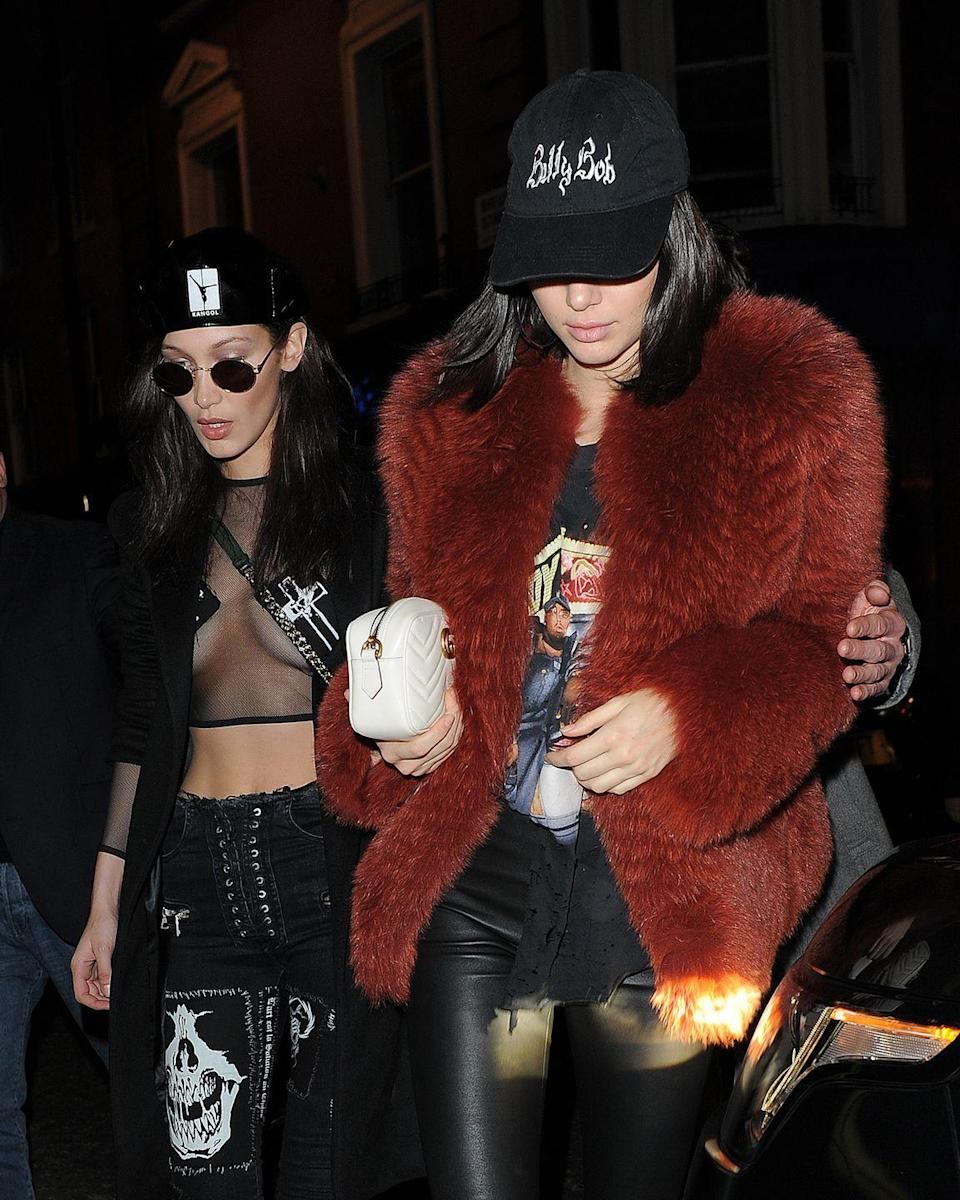 <p>A few days before, but still during London Fashion Week, Bella stepped out looking like an incredibly sexual pirate, with fellow catwalk model Kendall Jenner.</p>