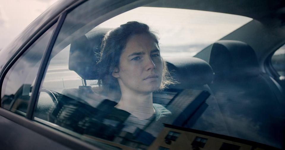 """<p>This documentary recounts the well-known case of Amanda Knox, a woman convicted for the 2007 murder of her roommate in Italy, Meredith Kercher, and sentenced to four years in an Italian prison. The film features interviews with Amanda Knox's ex-boyfriend Raffaele Sollecito, Italian prosecutor Giuliano Mignini, and Amanda Knox herself, following the story of Meredith Kercher's death and Amanda's eventual acquittal. </p> <p>Watch <a href=""""http://www.netflix.com/title/80081155"""" class=""""link rapid-noclick-resp"""" rel=""""nofollow noopener"""" target=""""_blank"""" data-ylk=""""slk:Amanda Knox""""><strong>Amanda Knox</strong></a> on Netflix now.</p>"""