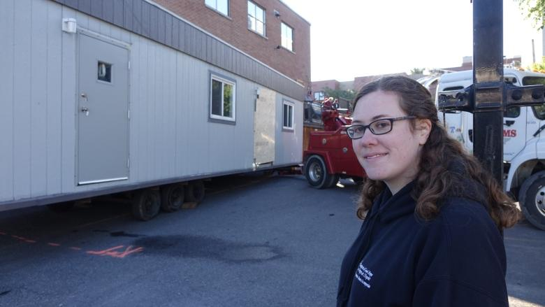 Injection trailer rolls into Shepherds of Good Hope lot